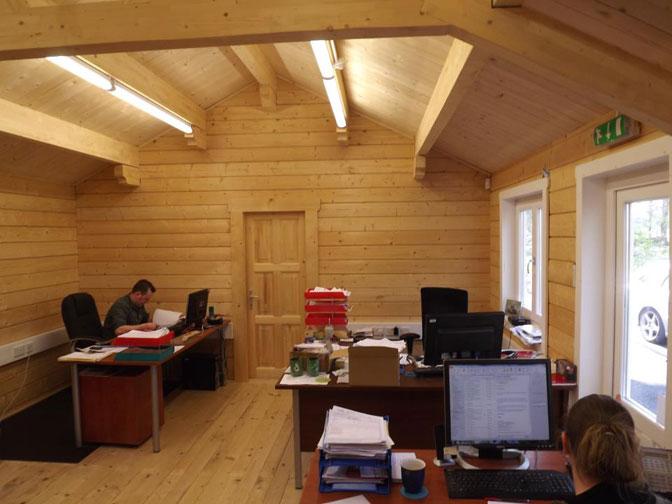 Log Cabin Office Building Log Cabin Offices Uk