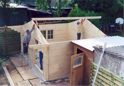 Flat pack Bespoke log cabin garden house
