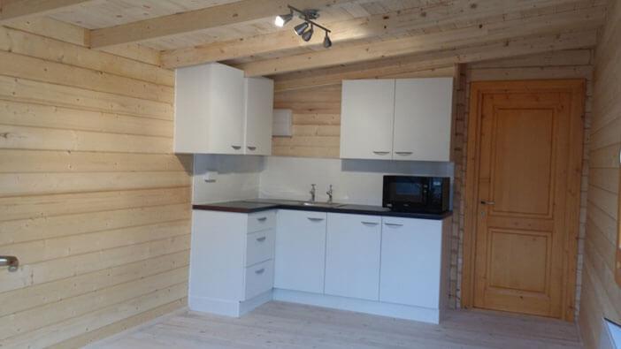Annexe kitchenette area