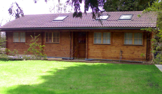 Granny annexe, garden annex, office etc.. Annexes need further insulation.