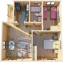 The Master Annexe- 2 bed annexe - click here for details