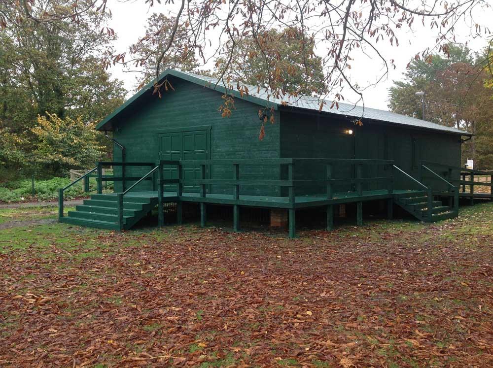 Sports Pavilion: The Duke of Edinburgh's archery club in Windsor